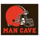 Fanmats 14291 NFL - Cleveland Browns Man Cave Tailgater Rug 59.5