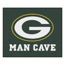 Fanmats 14307 NFL - Green Bay Packers Man Cave Tailgater Rug 59.5