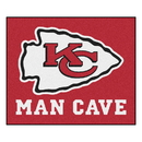 Fanmats 14323 NFL - Kansas City Chiefs Man Cave Tailgater Rug 59.5