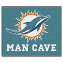 Fanmats 14327 NFL - Miami Dolphins Man Cave Tailgater Rug 59.5