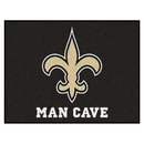Fanmats 14336 NFL - New Orleans Saints Man Cave All-Star Mat 33.75