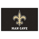 Fanmats 14338 NFL - New Orleans Saints Man Cave UltiMat 59.5
