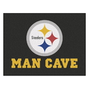 Fanmats 14356 NFL - Pittsburgh Steelers Man Cave All-Star Mat 33.75