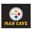 Fanmats 14359 NFL - Pittsburgh Steelers Man Cave Tailgater Rug 59.5