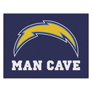 Fanmats 14360 NFL - Los Angeles Chargers Man Cave All-Star Mat 33.75