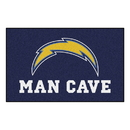 Fanmats 14362 NFL - Los Angeles Chargers Man Cave UltiMat 59.5