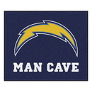 Fanmats 14363 NFL - Los Angeles Chargers Man Cave Tailgater Rug 59.5