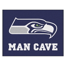 Fanmats 14368 NFL - Seattle Seahawks Man Cave All-Star Mat 33.75