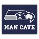 Fanmats 14371 NFL - Seattle Seahawks Man Cave Tailgater Rug 59.5