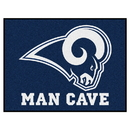 Fanmats 14372 NFL - Los Angeles Rams Man Cave All-Star Mat 33.75