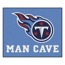 Fanmats 14384 NFL - Tennessee Titans Man Cave Tailgater Rug 59.5