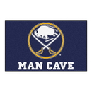 Fanmats 14399 NHL - Buffalo Sabres Man Cave UltiMat 59.5