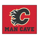 Fanmats 14404 NHL - Calgary Flames Man Cave Tailgater Rug 59.5