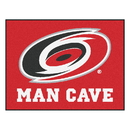 Fanmats 14405 NHL - Carolina Hurricanes Man Cave All-Star Mat 33.75