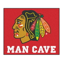 Fanmats 14412 NHL - Chicago Blackhawks Man Cave Tailgater Rug 59.5