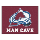 Fanmats 14413 NHL - Colorado Avalanche Man Cave All-Star Mat 33.75
