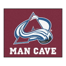 Fanmats 14416 NHL - Colorado Avalanche Man Cave Tailgater Rug 59.5