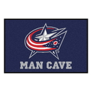 Fanmats 14418 NHL - Columbus Blue Jackets Man Cave Starter Rug 19