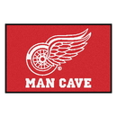 Fanmats 14426 NHL - Detroit Red Wings Man Cave Starter Rug 19