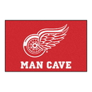 Fanmats 14427 NHL - Detroit Red Wings Man Cave UltiMat 59.5