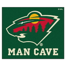 Fanmats 14444 NHL - Minnesota Wild Man Cave Tailgater Rug 59.5