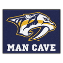 Fanmats 14449 NHL - Nashville Predators Man Cave All-Star Mat 33.75