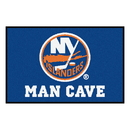Fanmats 14458 NHL - New York Islanders Man Cave Starter Rug 19
