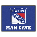 Fanmats 14461 NHL - New York Rangers Man Cave All-Star Mat 33.75
