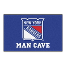 Fanmats 14463 NHL - New York Rangers Man Cave UltiMat 59.5
