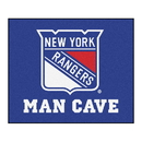 Fanmats 14464 NHL - New York Rangers Man Cave Tailgater Rug 59.5