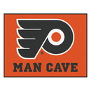 Fanmats 14469 NHL - Philadelphia Flyers Man Cave All-Star Mat 33.75