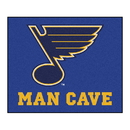 Fanmats 14488 NHL - St. Louis Blues Man Cave Tailgater Rug 59.5