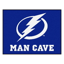 Fanmats 14489 NHL - Tampa Bay Lightning Man Cave All-Star Mat 33.75