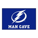 Fanmats 14491 NHL - Tampa Bay Lightning Man Cave UltiMat 59.5