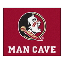 Fanmats 14546 Florida State Man Cave Tailgater Rug 59.5