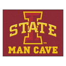 Fanmats 14557 Iowa State Man Cave All-Star Mat 33.75