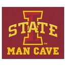Fanmats 14558 Iowa State Man Cave Tailgater Rug 59.5