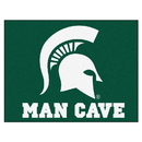 Fanmats 14569 Michigan State Man Cave All-Star Mat 33.75
