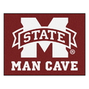 Fanmats 14573 Mississippi State Man Cave All-Star Mat 33.75