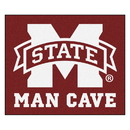 Fanmats 14574 Mississippi State Man Cave Tailgater Rug 59.5