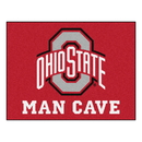 Fanmats 14585 Ohio State Man Cave All-Star Mat 33.75