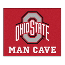 Fanmats 14586 Ohio State Man Cave Tailgater Rug 59.5