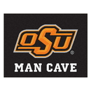 Fanmats 14589 Oklahoma State Man Cave All-Star Mat 33.75