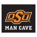 Fanmats 14590 Oklahoma State Man Cave Tailgater Rug 59.5