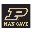 Fanmats 14602 Purdue 'P' Man Cave Tailgater Rug 59.5