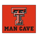 Fanmats 14614 Texas Tech Man Cave Tailgater Rug 59.5