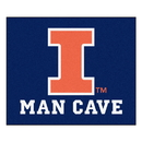 Fanmats 14642 Illinois Man Cave Tailgater Rug 59.5