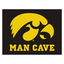 Fanmats 14645 Iowa Man Cave All-Star Mat 33.75