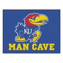Fanmats 14649 Kansas Man Cave All-Star Mat 33.75