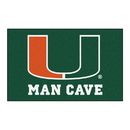 Fanmats 14667 Miami Man Cave UltiMat 59.5